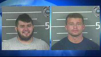 Timothy Smith (L) and David Daniels (R) mugshots