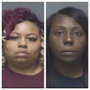 Chantel Floyd and Coffy Beaty mugshots